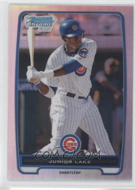 2012 Bowman - Chrome Prospects - Refractor #BCP213 - Junior Lake