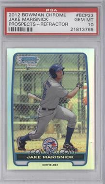 2012 Bowman - Chrome Prospects - Refractor #BCP23 - Jake Marisnick /500 [PSA10]