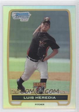 2012 Bowman - Chrome Prospects - Refractor #BCP70 - Luis Heredia /500