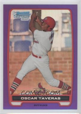 2012 Bowman - Chrome Prospects - Retail Purple Refractor #BCP102 - Oscar Taveras /199