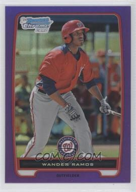 2012 Bowman - Chrome Prospects - Retail Purple Refractor #BCP166 - Wander Ramos /199