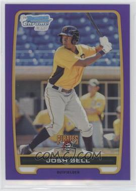2012 Bowman - Chrome Prospects - Retail Purple Refractor #BCP79 - Josh Bell /199