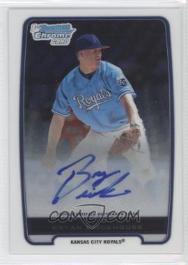 2012 Bowman - Chrome Prospects Certified Autographs - [Autographed] #BCP84 - Bryan Brickhouse