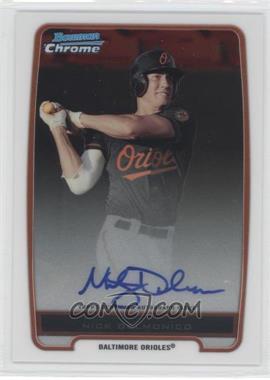 2012 Bowman - Chrome Prospects Certified Autographs - [Autographed] #BCP92 - Nick Delmonico