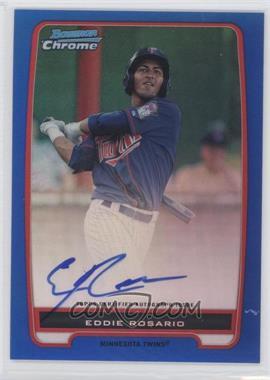 2012 Bowman - Chrome Prospects Certified Autographs - Blue Refractor [Autographed] #BCP9 - Eddie Rosario /150