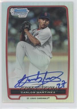 2012 Bowman - Chrome Prospects Certified Autographs - Refractor #BCP108 - Carlos Martinez /500