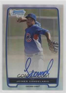 2012 Bowman - Chrome Prospects Certified Autographs - Refractor #BCP20 - Jeimer Candelario /500