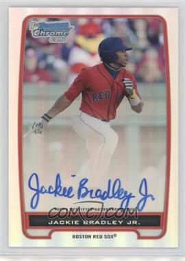 2012 Bowman - Chrome Prospects Certified Autographs - Refractor #BCP66 - Jackie Bradley Jr. /500