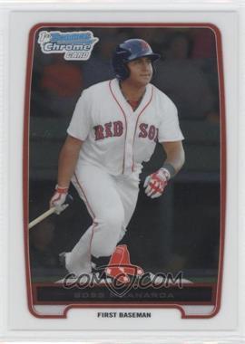 2012 Bowman - Chrome Prospects #BCP116 - Boss Moanaroa
