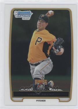 2012 Bowman - Chrome Prospects #BCP185 - Logan Pevny