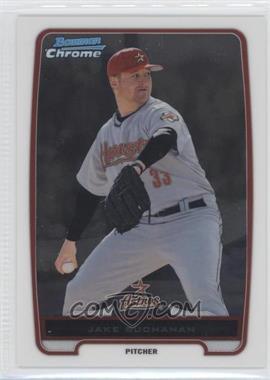 2012 Bowman - Chrome Prospects #BCP215.2 - Jake Buchanan (Short Print Grey Jersey)