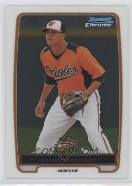 2012 Bowman - Chrome Prospects #BCP217 - Manny Machado