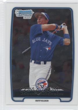 2012 Bowman - Chrome Prospects #BCP83 - Jacob Anderson