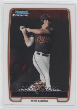 2012 Bowman - Chrome Prospects #BCP92 - Nick Delmonico