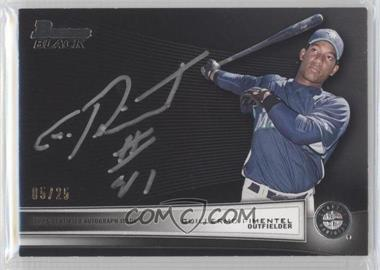 2012 Bowman - Multi-Product Insert Bowman Black Collection - [Autographed] #BBC-GP - Guillermo Pimentel /25