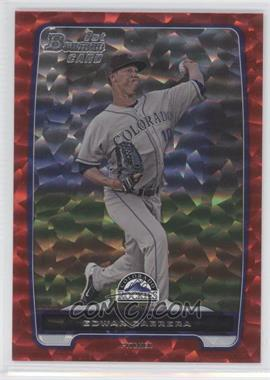 2012 Bowman - Prospects - Red Ice #BP64 - Edwar Cabrera /25