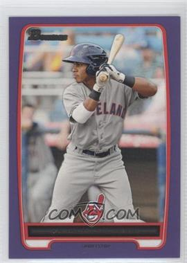 2012 Bowman - Prospects - Retail Purple #BP3 - Francisco Lindor