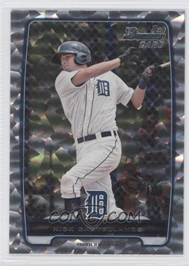 2012 Bowman - Prospects - Silver Ice #BP78 - Nick Castellanos