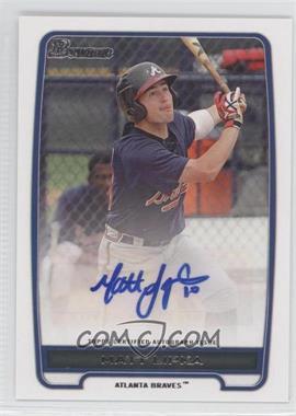 2012 Bowman - Retail Prospect Certified Autographs - [Autographed] #BPA-ML - Matt Lipka