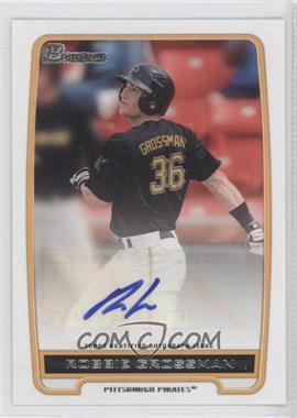 2012 Bowman - Retail Prospect Certified Autographs - [Autographed] #BPA-RG - Robbie Grossman