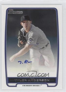 2012 Bowman - Retail Prospect Certified Autographs - [Autographed] #BPA-TA - Tyler Anderson
