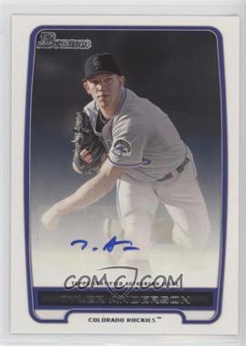2012 Bowman - Retail Prospect Certified Autographs - [Autographed] #BPA-TA - Tyler Anderson