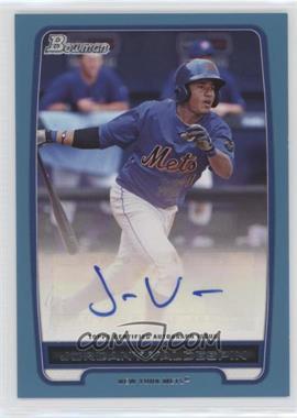 2012 Bowman - Retail Prospect Certified Autographs - Blue [Autographed] #BPA-JV - Jordany Valdespin /500