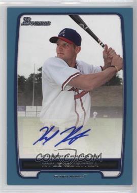 2012 Bowman - Retail Prospect Certified Autographs - Blue [Autographed] #BPA-KK - Kyle Kubitza /500