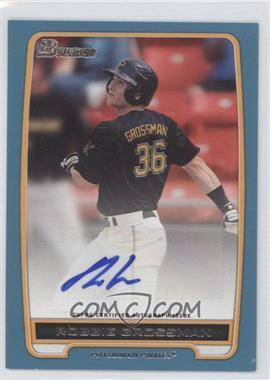 2012 Bowman - Retail Prospect Certified Autographs - Blue [Autographed] #BPA-RG - Robbie Grossman /500