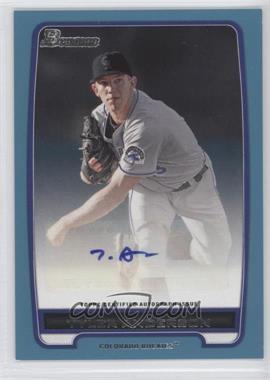 2012 Bowman - Retail Prospect Certified Autographs - Blue [Autographed] #BPA-TA - Tyler Anderson /500
