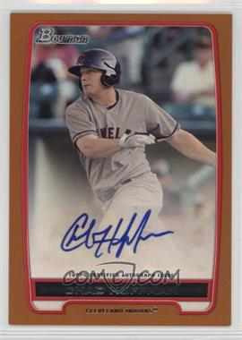 2012 Bowman - Retail Prospect Certified Autographs - Orange [Autographed] #BPA-CH - Chad Huffman /250
