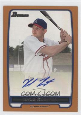 2012 Bowman - Retail Prospect Certified Autographs - Orange [Autographed] #BPA-KK - Kyle Kubitza /250