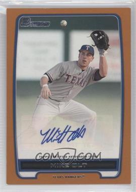 2012 Bowman - Retail Prospect Certified Autographs - Orange [Autographed] #BPA-MO - Mike Olt /250