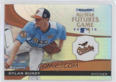 2012 Bowman Chrome - All-Star Futures Game #FG-DB - Dylan Bundy