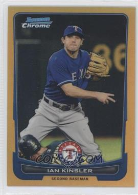 2012 Bowman Chrome - [Base] - Gold Refractor #64 - Ian Kinsler /50