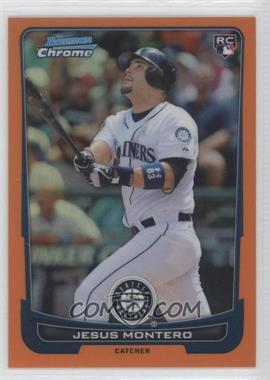 2012 Bowman Chrome - [Base] - Orange Refractor #203 - Jesus Montero /25