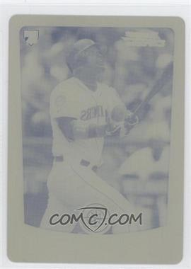 2012 Bowman Chrome - [Base] - Printing Plate Yellow #203 - Jesus Montero /1