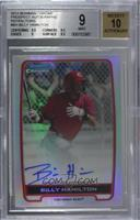 Billy Hamilton [BGS 9 MINT] #/500