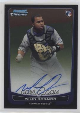 2012 Bowman Chrome - Rookie Certified Autographs - [Autographed] #218 - Wilin Rosario
