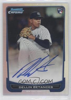 2012 Bowman Chrome - Rookie Certified Autographs - Refractor [Autographed] #217 - Dellin Betances /500