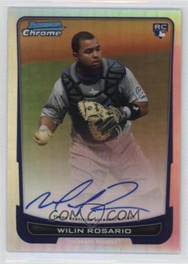 2012 Bowman Chrome - Rookie Certified Autographs - Refractor [Autographed] #218 - Wilin Rosario /500