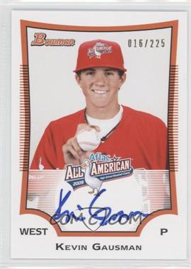 2012 Bowman Draft Picks & Prospects - Aflac All-American Certified Autographs - [Autographed] #AFLAC-KG - Kevin Gausman /225