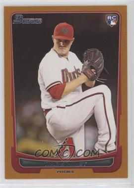 2012 Bowman Draft Picks & Prospects - [Base] - Orange #15 - Wade Miley /250
