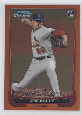 2012 Bowman Draft Picks & Prospects - Chrome - Orange Refractor #11 - Joe Kelly /25