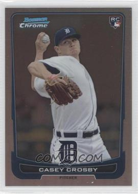 2012 Bowman Draft Picks & Prospects - Chrome - Refractor #14 - Casey Crosby /300