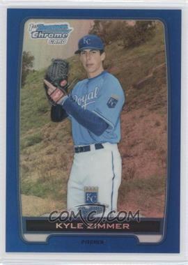 2012 Bowman Draft Picks & Prospects - Chrome Draft Picks - Blue Refractors #BDPP10 - Kyle Zimmer /250