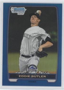 2012 Bowman Draft Picks & Prospects - Chrome Draft Picks - Blue Refractors #BDPP103 - Eddie Butler /250