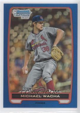 2012 Bowman Draft Picks & Prospects - Chrome Draft Picks - Blue Refractors #BDPP26 - Michael Wacha /250