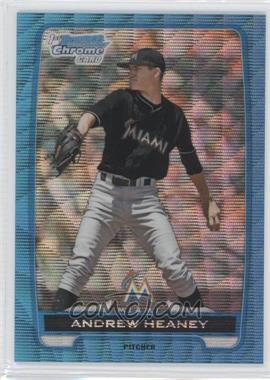 2012 Bowman Draft Picks & Prospects - Chrome Draft Picks - Blue Wave Refractors #BDPP12 - Andrew Heaney