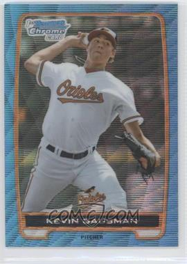 2012 Bowman Draft Picks & Prospects - Chrome Draft Picks - Blue Wave Refractors #BDPP2 - Kevin Gausman